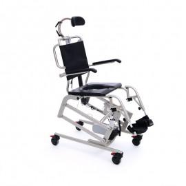 Mobilne krzesło do higieny Mohican z zagłówkiem w zestawie