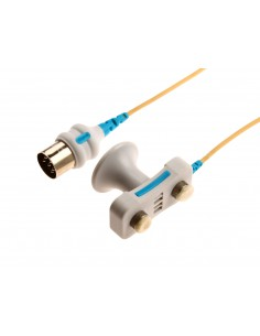 Bipolarna elektroda stymulująca z korkami filcowymi