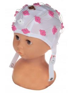 Czepki elektrodowe FlexiCAP dla dzieci i niemowląt z 21 elektrodami